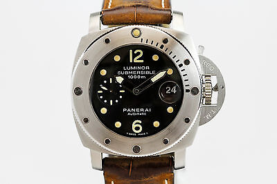 Panerai Luminor 1950 Submersible 1000m Automatic Dive Watch PAM 243 J Series