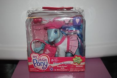 MY LITTLE PONY  Dress- Up Daywear Study Break with SHENANIGANS MIB NEW 2004 - My Little Dress Up