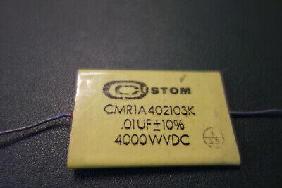 Custom .01uf 4kv 10 High Voltage Mylar Capacitor Tesla Coil