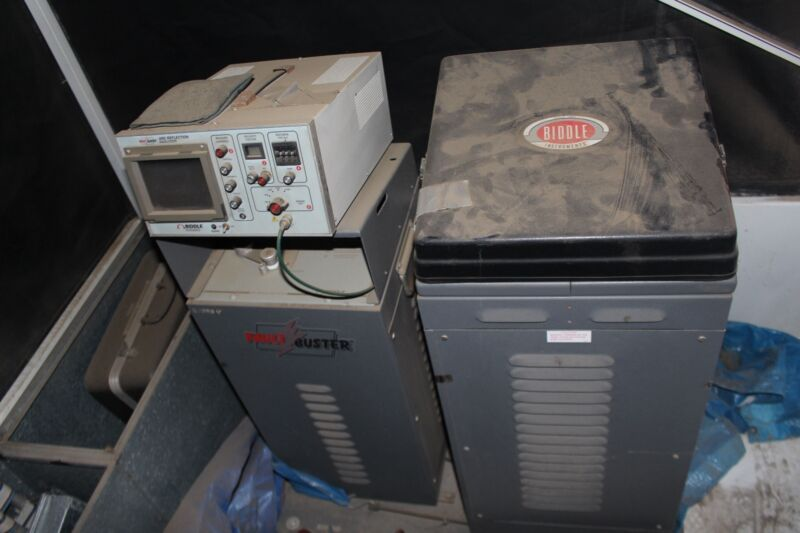 Biddle Impulse Generator Cable Test System With Fault Buster & Acoustic Detector