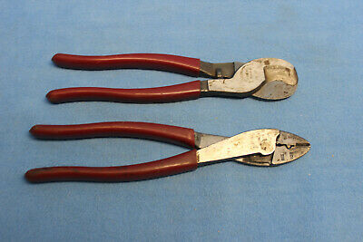 Lot Klein Tools 63050 Cable Cutter 1005 Crimping Tool
