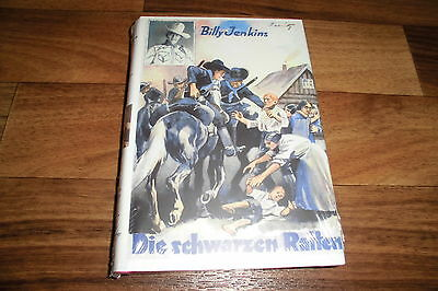 BILLY JENKINS -- SCHWARZEN RATTEN // HC-Vorkriegsausgabe als Reprint OVP -- NEU