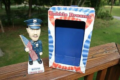 New York Police Department Flag Carrying 9/11 bobble head