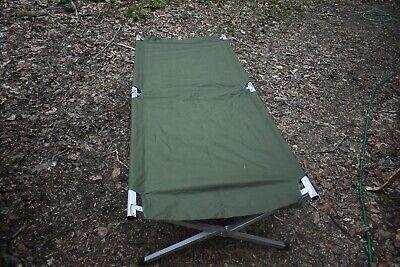 Mil-Tec Feldliege Liege Campingliege Campingbett Klappliege 180x50 cm oliv