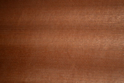 Sapele Ribbon Stripe Wood Veneer Sheets 5.5 X 34 Inches   6773-26