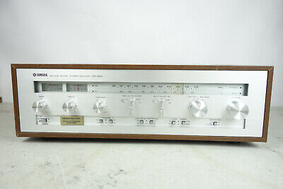 YAMAHA CR-620 Vintage Stereo Receiver Serviced Recapped