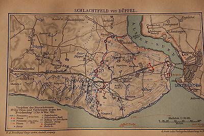 Deutsch - Dänischer Krieg - 1864 - Schlachtfeld von Düppel