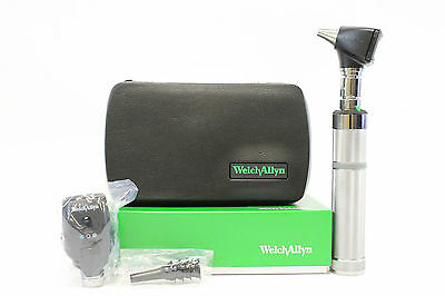 Welch Allyn 3.5v Complete Diagnostic Set With 2 Heads Handle And Hard Case