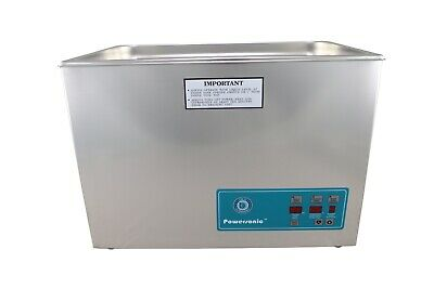 Crest Powersonic Ultrasonic Cleaner 5.25 Gallon Timer Heat P1800ht-45 115v