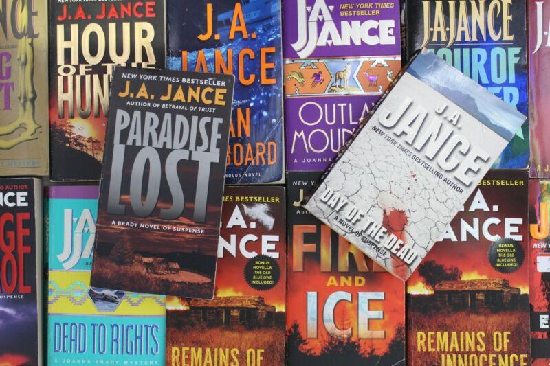 Lot of 5 J.A. Jance Mystery Mass Market Paperback Books MIX