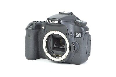 Canon EOS 70D 20.2MP Digital SLR Camera (Body Only)  #C09674