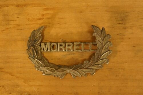 RARE Obsolete Morrell Hat Badge 1880