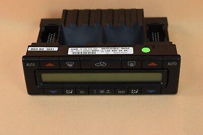 Mercedes S-Klasse W140 Klimabedienteil Bedienteil Klimaanlage | 1408302485
