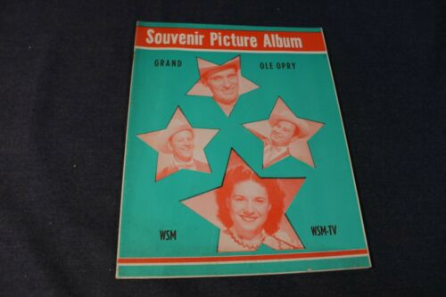 Grand Ole Opry Souvenir Picture Album 1955