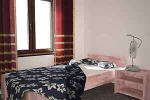 27mm echtholz bett buche massiv 90x200 vollholz g stebett neu seniorenbett ebay. Black Bedroom Furniture Sets. Home Design Ideas