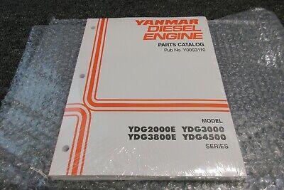 Yanmar Diesel Engine Generator Ydg 2000e 4500 3000 Parts Catalog Motor Y00s3110