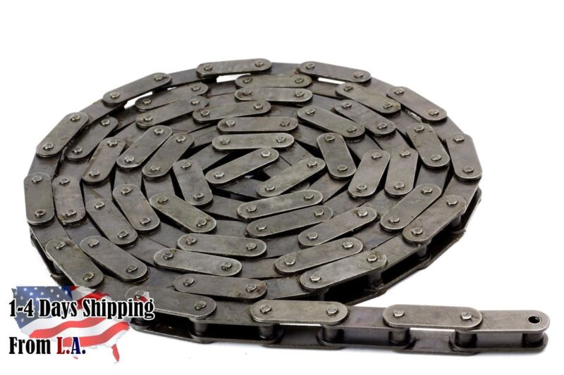 #C2080H Heavy Duty Conveyor Roller Chain 10 Feet with 1 Connecting Link