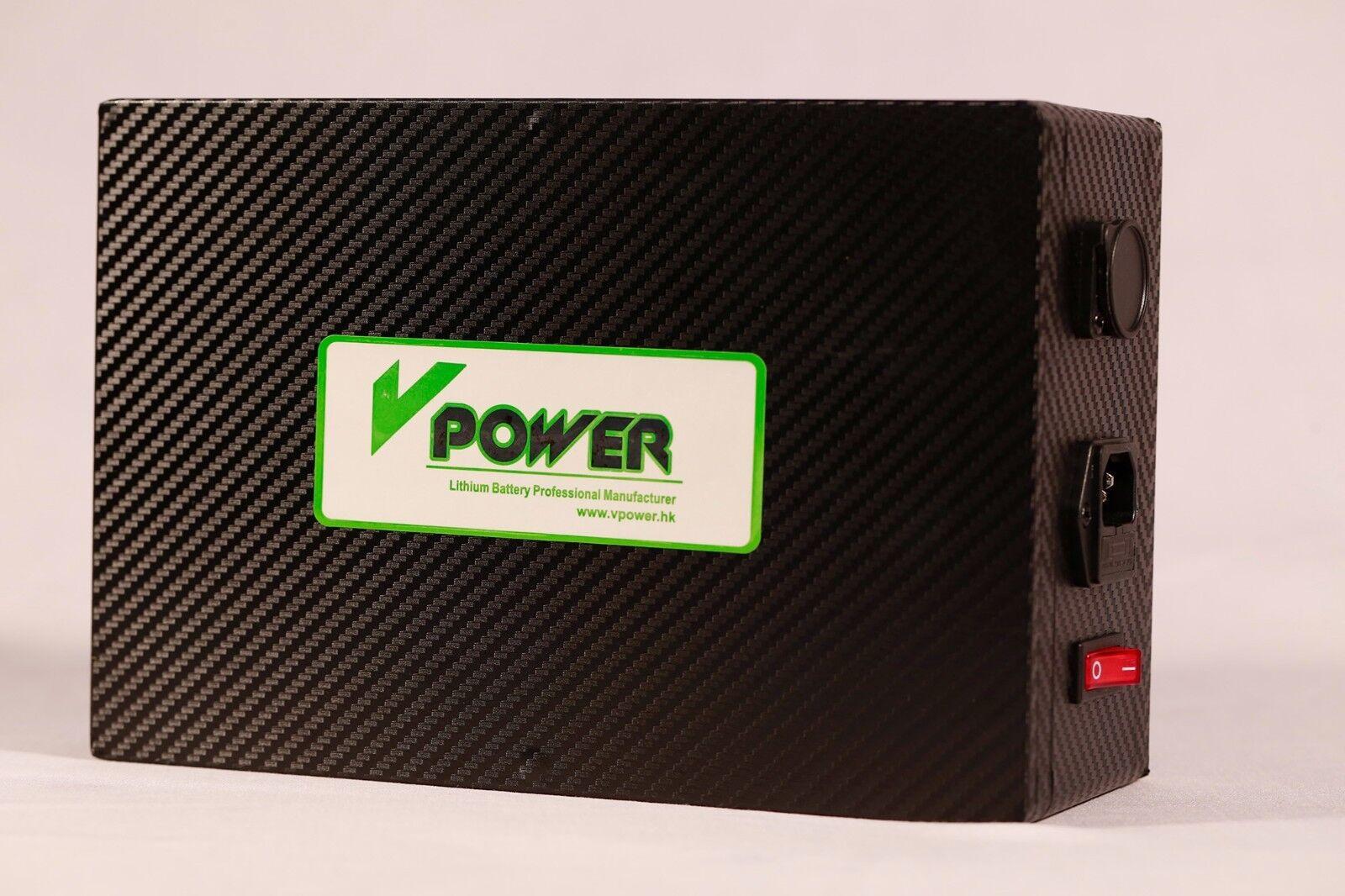 18650 36V 10AH Lithium Batteries Pack E-bikes Rechargeable P