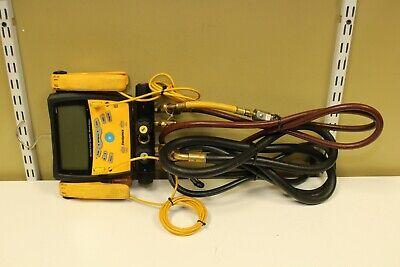Fieldpiece Sman460 - Wireless 4-port Digital Manifold With Micron Gauge