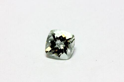Green Amethyst Quartz 1.55ct cushion cut checkerboard top loose gem stone NEW