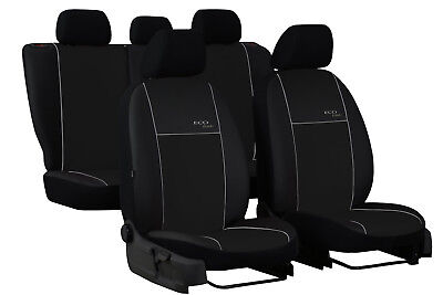 CITROEN C4 PICASSO 5 SEATS Mk2 2013 ONWARDS ECO LEATHER TAILORED SEAT COVERS