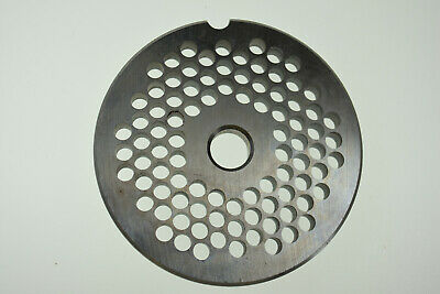 316 4.5mm Stainless Meat Grinder Plate For Biro Size 12 2 34 Diameter