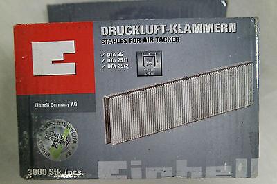 Einhell Druckluft-Tacker-Zubehör Klammern, 3000 Stk 5,7x40mm Druckluftklammern