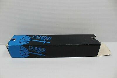 Gerber Mark II w/cloth sheath double edge knife