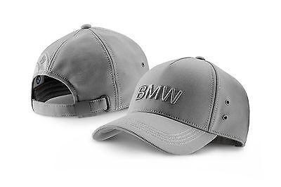 BMW Cap Basecap Wortmarke Space Grey ***NEU/OVP***