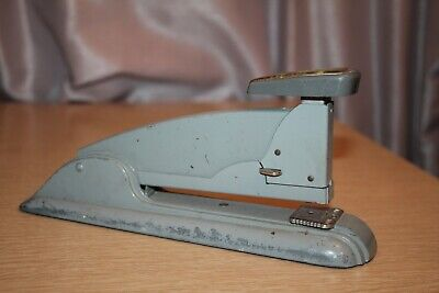 Vintage Gray Swingline Speed Stapler Made In Usa Art Deco