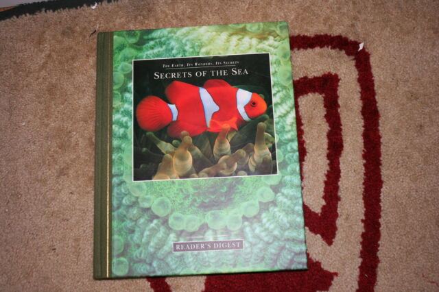 SECRETS OF THE SEA READERS DIGEST BOOK
