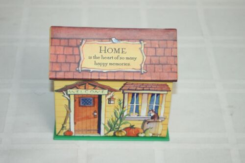 Better Homes and Garden Heart and Home Collection House Shaped Recipe Box + Card