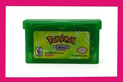 Pokemon Leaf Green - GBA USA Seller
