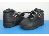 Timberland Helcor Little Kids Field Boots Black 3371r
