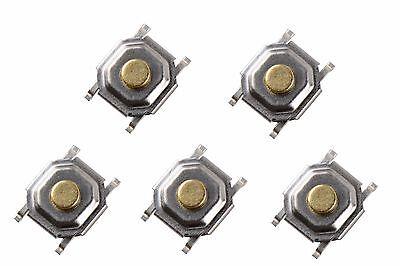 5 X MICRO PULSADOR BOTON INSTANTANEO REPARACIÓN MOVILES PUSH BUTTON MICRO INTERR
