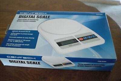 Cen-tech Digital Scale 95364 Up To 5000 Gm 11 Lbs