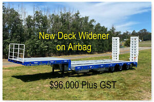 NEW Drop Deck Widener on Airbag suspension with Bifold ramps Pickering Brook Kalamunda Area Preview
