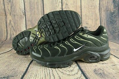 786e7544b6689b 2017 Nike Air Max Plus TN 1 Sequoia White-Neutral Olive 852630-301 Men s  Size 10