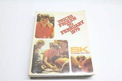 Nice Vintage 1979 Sk Science Kit Inc. Prices Guide Manual Lab Equipment Teacher