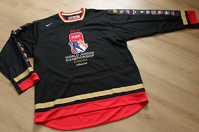 Other Game Used Memorabilia Sports Mem, Cards & Fan Shop Game Worn Used Hockey Switzerland National Team World Cup Nike 100% High Quality Materials
