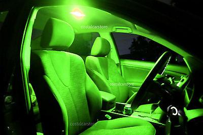 Subaru Liberty  1994-1999 BD BG BK Supr Bright Green LED Interior Light Kit