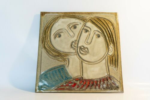 QUEBEC POTTERY CHARLES SUCSAN CANADA TILE