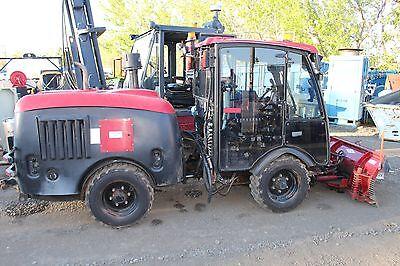 2008 Maclean Mv2 4x4 Articulated Municipal Tractor Plow Diesel Cab Heat Ac Cat