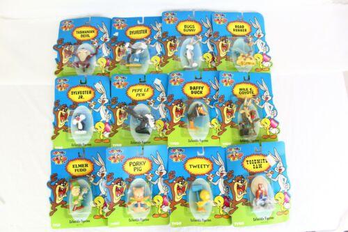 Complete 1994 Looney Tunes Tyco Collectible Figurines Set 12 Vintage Figures NEW