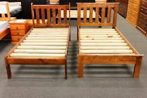 *NEW* SOLID PINE SINGLE BED $179