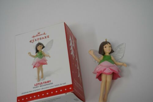 Hallmark 2015 Lotus  Fairy Messengers  Series Ornament