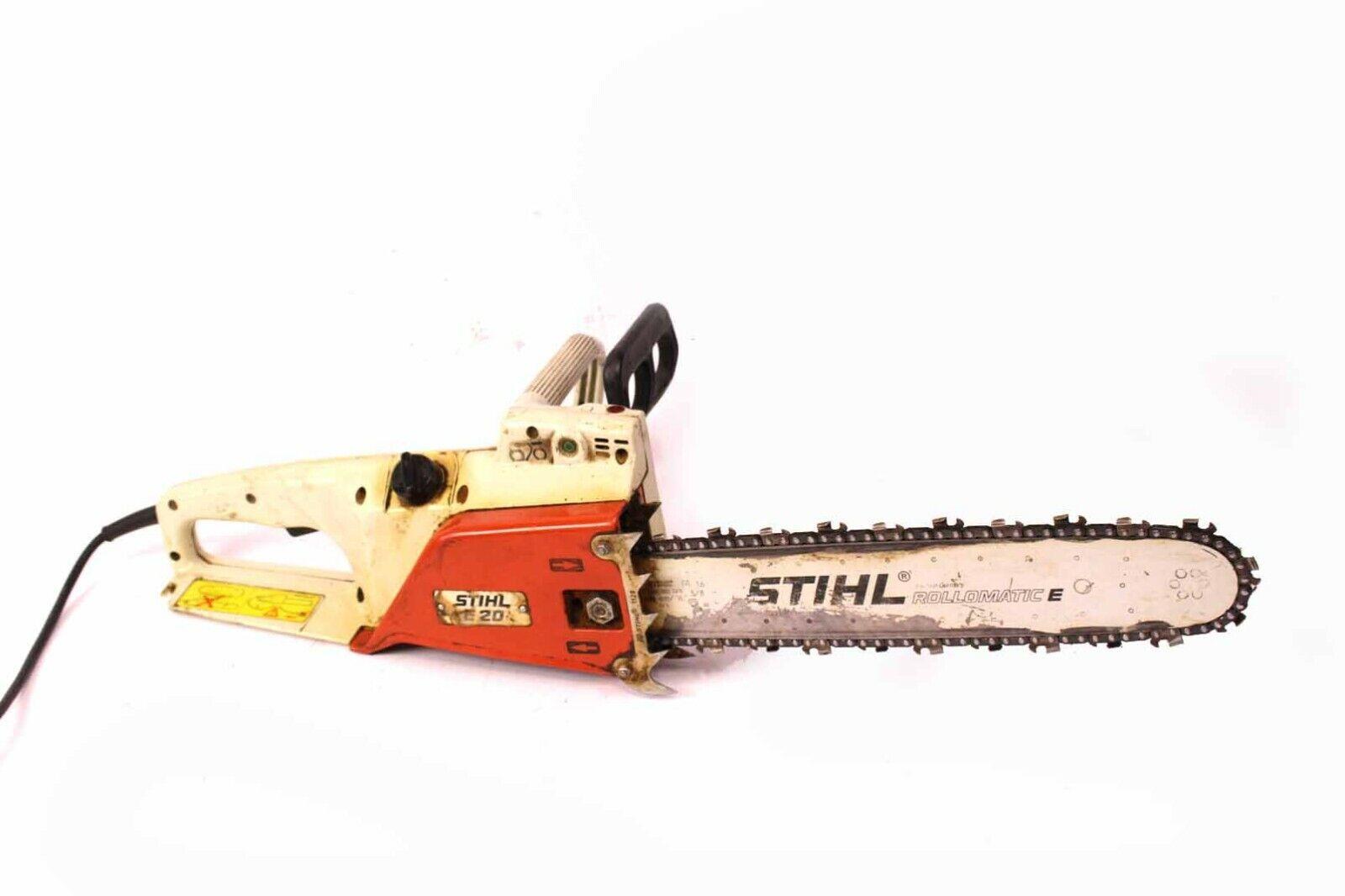 STIHL E20 Elektrosäge Motorkettensäge 39 cm Schwert Motorsäge 2000 W