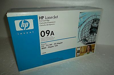 HP 09A Toner Cartridge Black 15.0K 5Si MX 8000mfp 8000 C3909A 5Si 8000dn OEM NEW