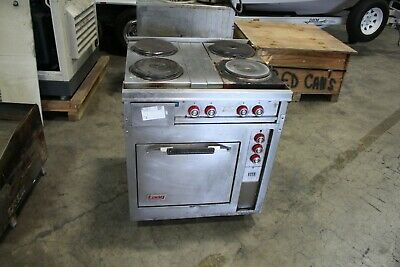 Lang 4 Burner Electric Range