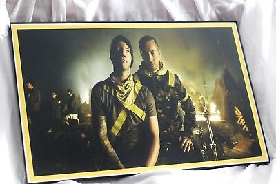 Twenty One Pilots Yellow Poster 17X11 Inches